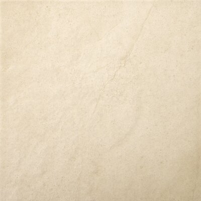 "Emser Tile St Moritz 12"" x 12"" Glazed Floor Porcelain Tile in Ivory"