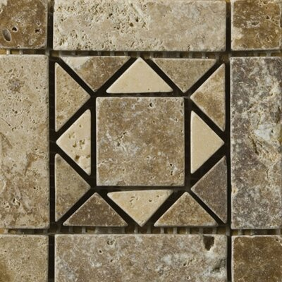 Emser Tile 4&quot; x 4&quot; Linares Travertine Listello Corner