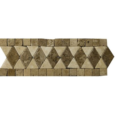 "Emser Tile 4"" x 12"" Pisa Travertine Listello"