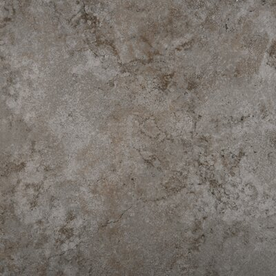 "Emser Tile Granada 13"" x 13"" Glazed Porcelain Tile in Silver"