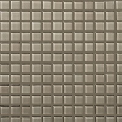 "Emser Tile Lucente 12"" x 12"" Glossy Mosaic in Morning Fog"