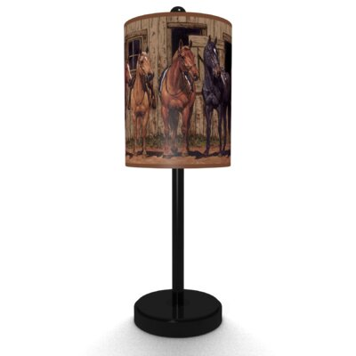 Illumalite Designs At The Stable Table Lamp