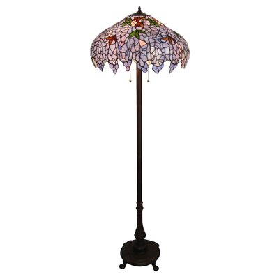 Chloe Lighting Wisteria 2 Light Floor Lamp