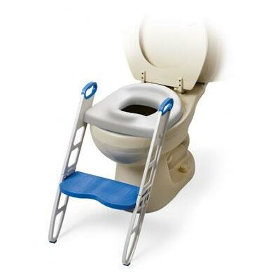 Mommy's Helper Cushie Step Up Padded Potty Seat with Step Stool