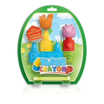 Wooky 7 Pieces Block Crayon