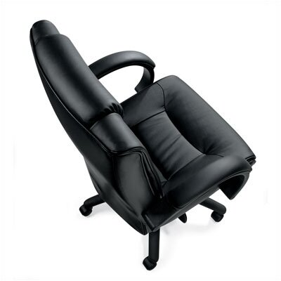 Offices To Go High-Back Leather Series Two Office Chair