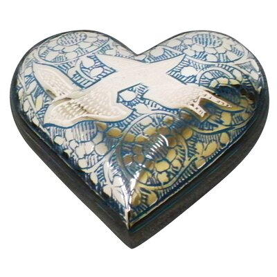 UrnsDirect2U Going Home Heart Keepsake Urn