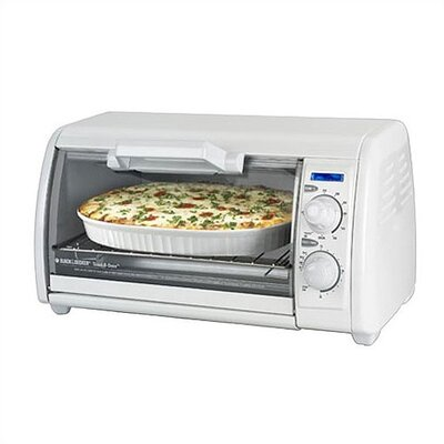 Black & Decker Classic Toast-R-Oven & Broiler in White