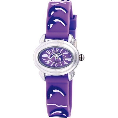 Juniors Dolphin Design Watch in Purple