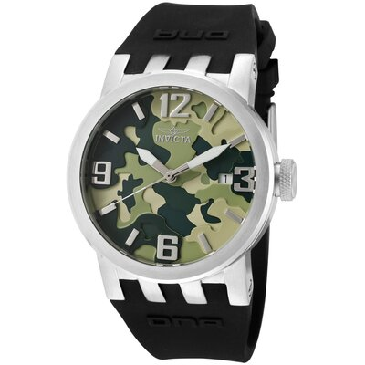 Invicta Women's DNA/Camouflage Round Watch