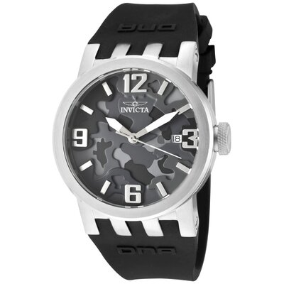 Women's DNA/Camouflage Round Watch