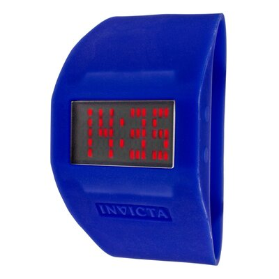 Unisex Specialty Digital Silicon Cuff Watch