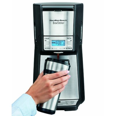 Hamilton Beach Brewstation Summit Ultra 12-Cup Programmable Coffeemaker