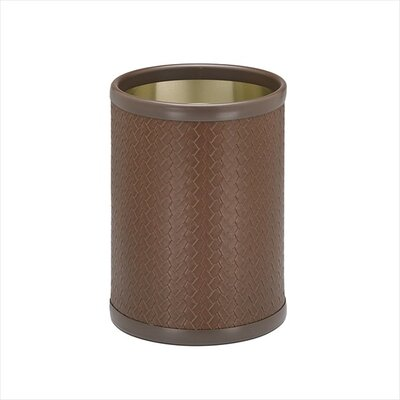"Kraftware San Remo 10"" Pinecone Design Waste Basket"