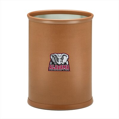 Collegiate Alabama Basketball Theme Waste Basket