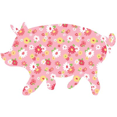 WallPops! ZooWallogy Scarlett The Pig Decal