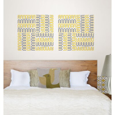 WallPops! Jonathan Adler Aztec Diamond Blox Wall Decal