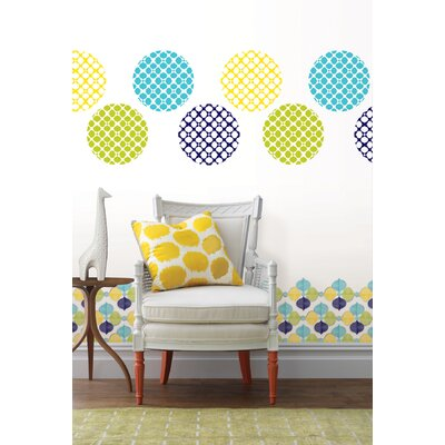 WallPops! Jonathan Adler Hollywood Dot Wall Decal