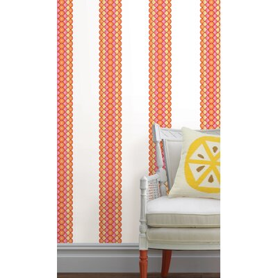 WallPops! Jonathan Adler Geo Circles Stripe Wall Decal
