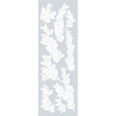 Willow Etched Glass Decals