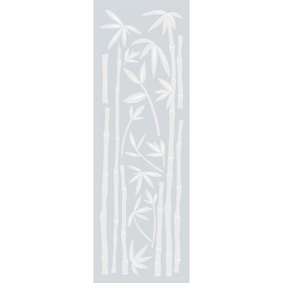 Bamboo Etched Glass Decals