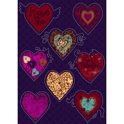 Brewster Home Fashions Komar Freestyle Valentine Decals