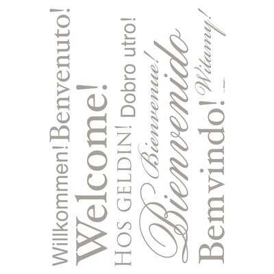 Komar Living Welcome Decals