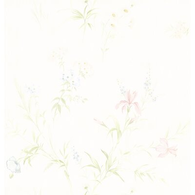 Kitchen and Bath Resource II Floral Wallpaper