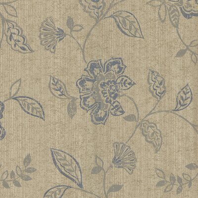 Brewster Home Fashions Salon Jacobean Trail Wallpaper in Silver