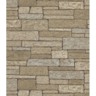 Brewster Home Fashions Northwoods Slate Wall Wallpaper