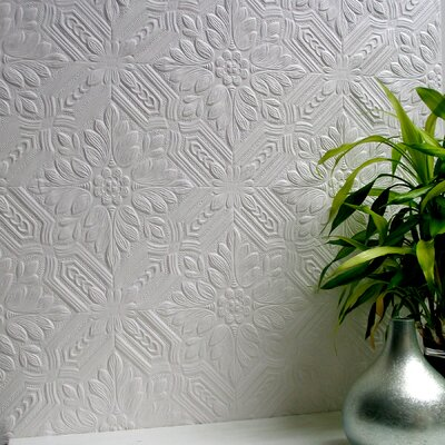 Brewster Home Fashions Anaglypta Paintable Howard Supaglypta Wallpaper