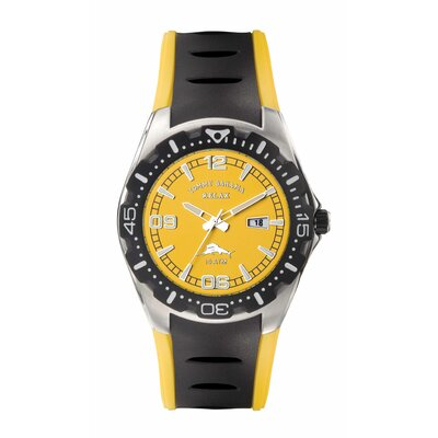 Men's Beach Cruiser Watch in Yellow and Black