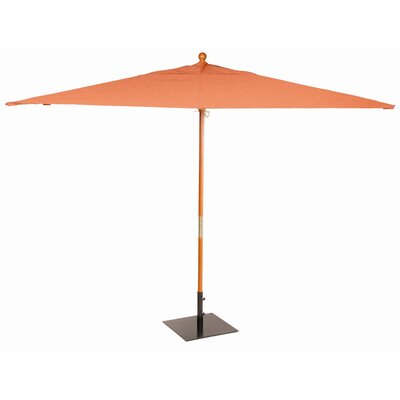 Oxford Garden 10' Sunbrella Rectangular Market Umbrella