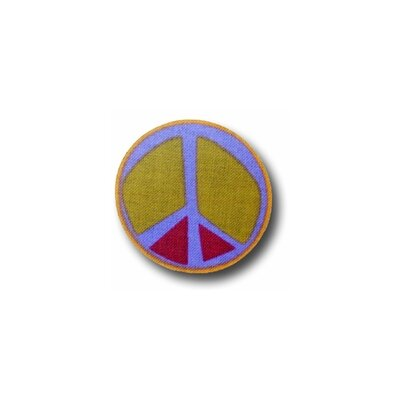 Peace Purple 1 Drawer Knob