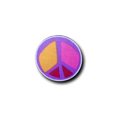Peace Purple 5 Drawer Knob