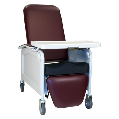 Three Position Lifecare Recliner with Saddle Seat