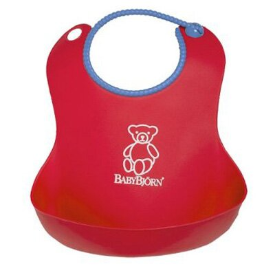 BabyBjorn Soft Bib in Red