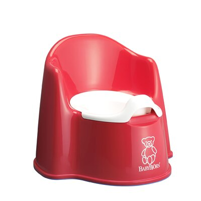 BabyBjorn Potty Chair in Red