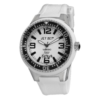 Jet Set WB30 Men's Watch in White