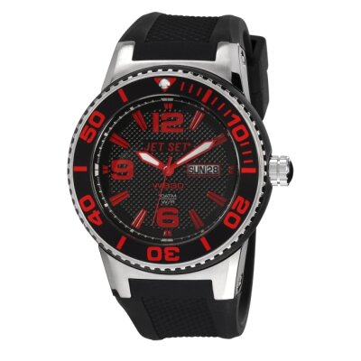 Jet Set WB30 Ladies Watch with Black / Red Dial
