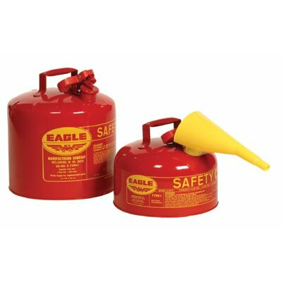 Eagle Type l Safety Cans - 1gal. type 1 safety canw/f-15 funn