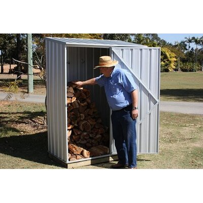 Absco Spacesaver Steel Tool Shed