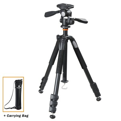 Alta+ 264AP Aluminum Tripod w/ PH-32 Pan Head