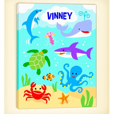 Ocean Personalized Canvas Art