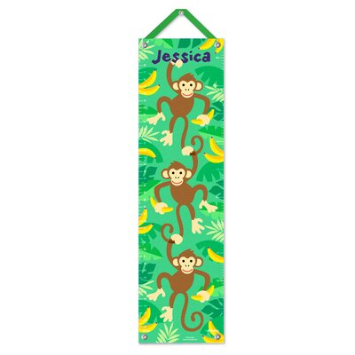 Monkeys Personalized Growth Chart