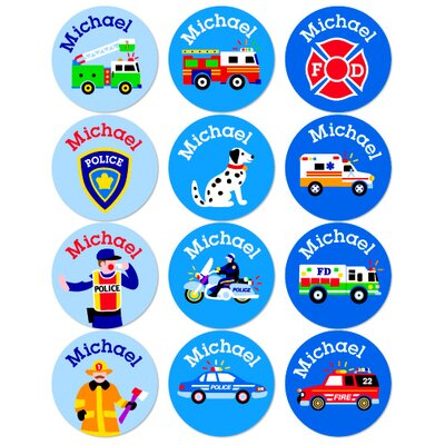 Olive Kids Heroes Personalized Stickers