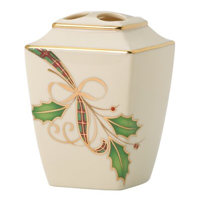Lenox Holiday Nouveau Toothbrush Holder