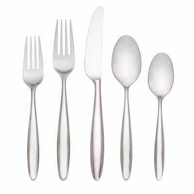 Lenox Curve Flatware 5 Piece Plate Place Setting