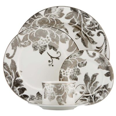 Lenox Silver Applique 5 Piece Place Setting
