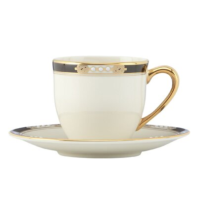 Lenox Hancock Demitasse Cup and Saucer